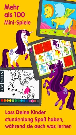 Einhorn Einhörner Spiele Für Kinder Babys P Im App Store
