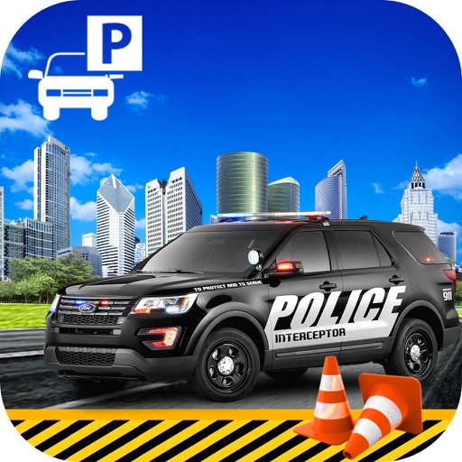 Highway Police Parking Challenge: 3D
