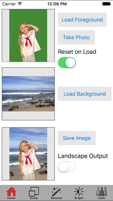 Green Screen Wizard Mobile screenshot one