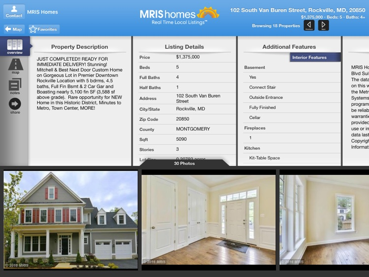 MRIS Homes for iPad screenshot-3
