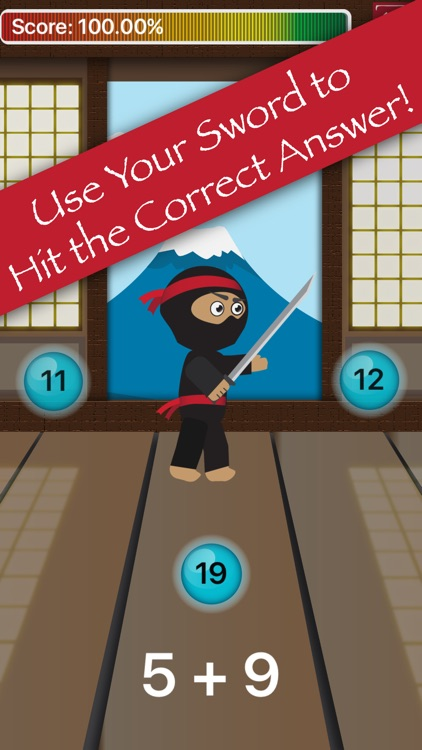 Math Facts Ninja - Improve Math Skills with Games