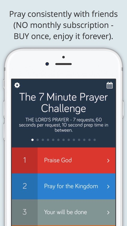 7 Minute Prayer Challenge
