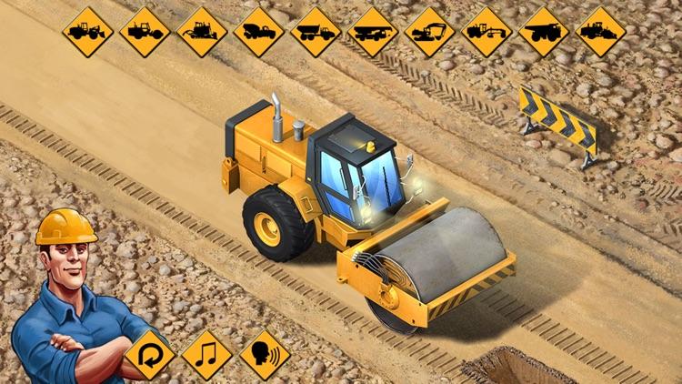 Kids Vehicles: Construction for iPhone screenshot-4