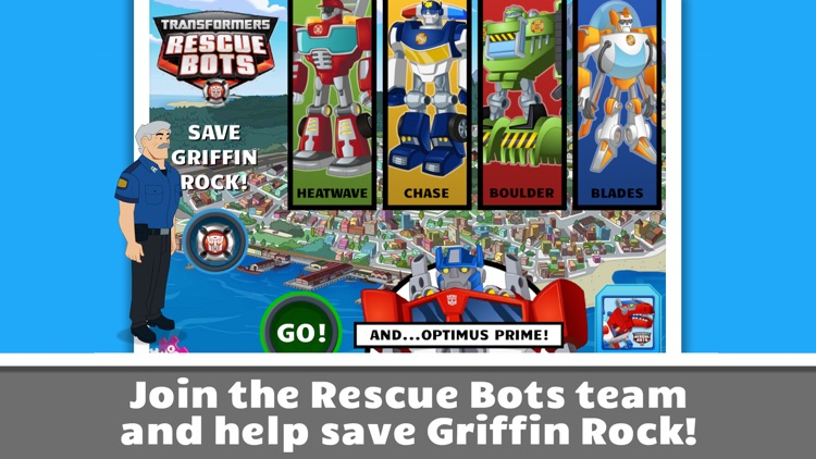 Transformers Rescue Bots: Save Griffin Rock screenshot-0
