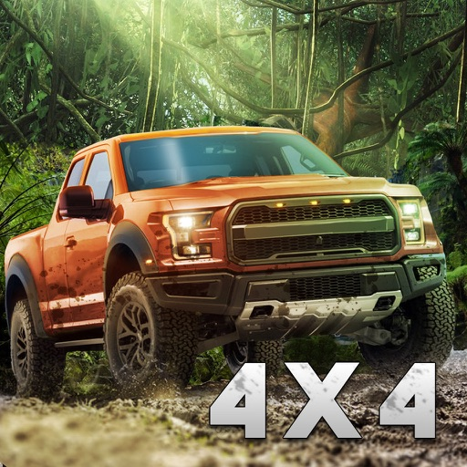 SUV 4x4 Rally Driving - Be a rally truck driver!