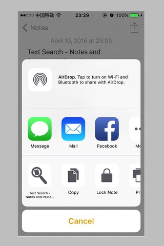 Text Search - Notes Search - náhled