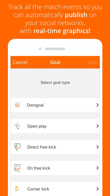 GoalShouter screenshot-1