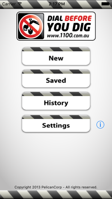 1100 (Dial Before You Dig) screenshot one