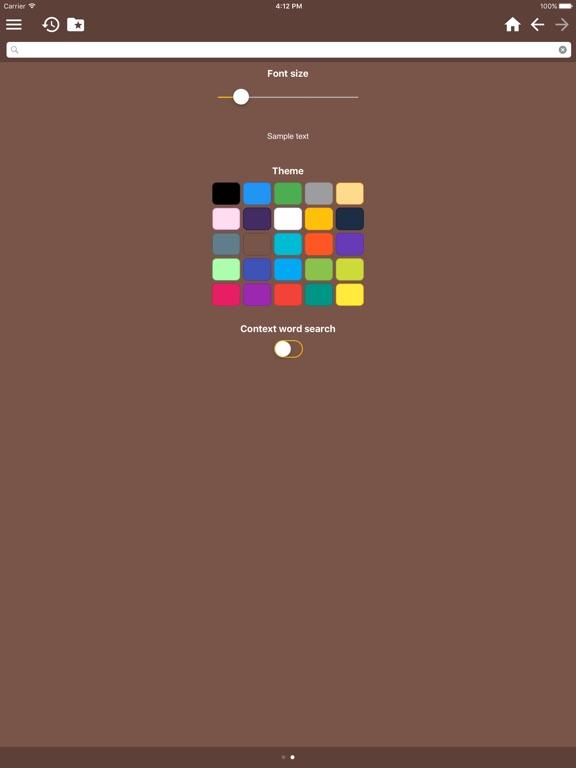 English-Indonesian Dictionary Free iPad