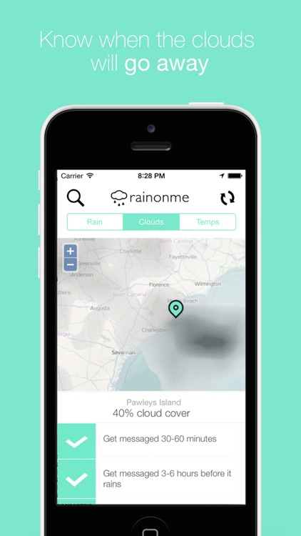 Rainonme - Darksky Rain Alerts, Radar & Maps