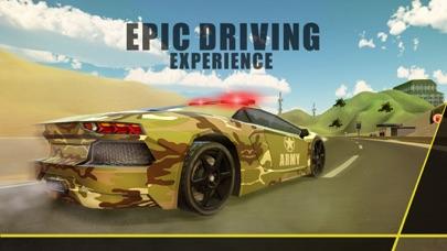 军队汽车驾驶-军事驾驶员培训 & 警察追逐粉碎与赛车模拟器 App 截图