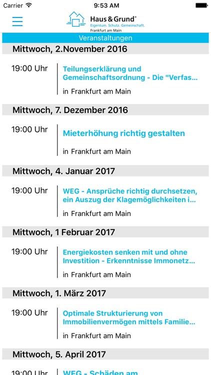 Haus & Grund Frankfurt am Main screenshot-3