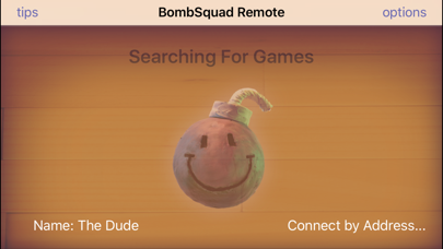 Screenshot from BombSquad Remote