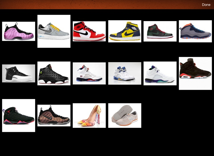 Shoe Collectors for iPad screenshot-3