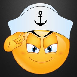 Navy Emoji Stickers