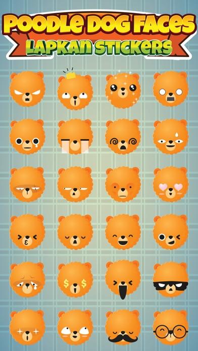 Sticker Me: Poodle Faces