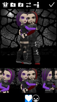My Talking Goth Lite iphone images