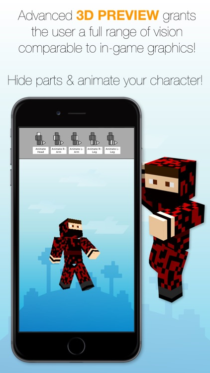 Skin Creator Free For Minecraft Game Textures screenshot-3