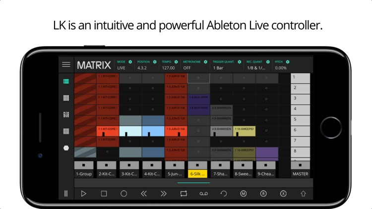 LK - for Ableton Live & Midi control