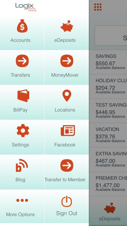 Logix Mobile Banking screenshot-1