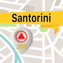 Santorini Offline Map Navigator and Guide