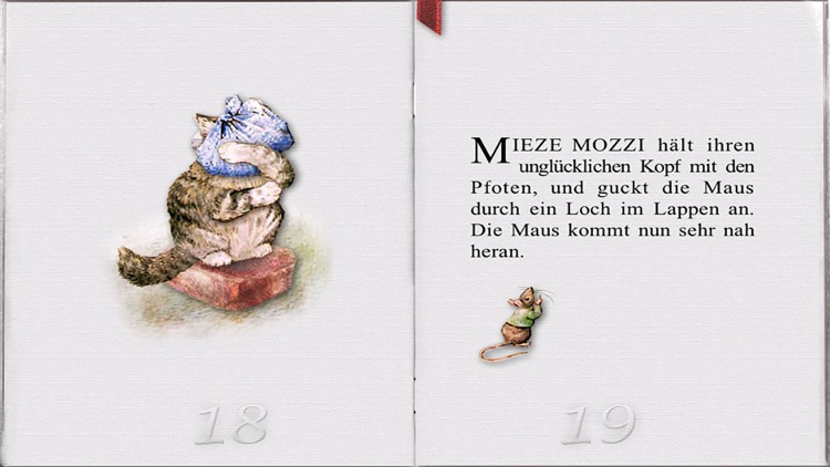 The Story of Miss Moppet in German FULL