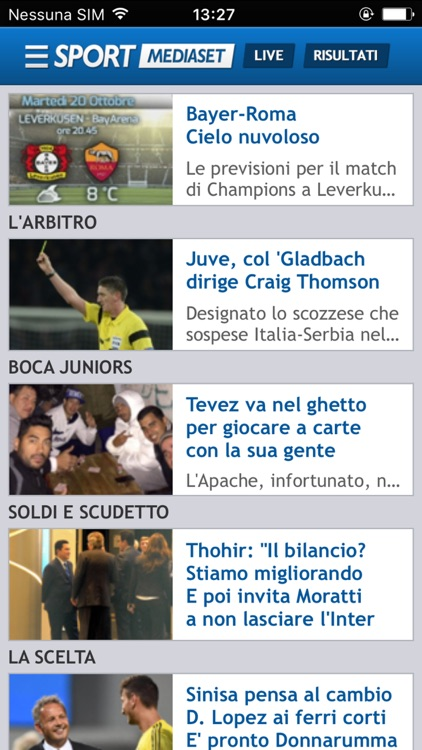SPORTMEDIASET screenshot-3