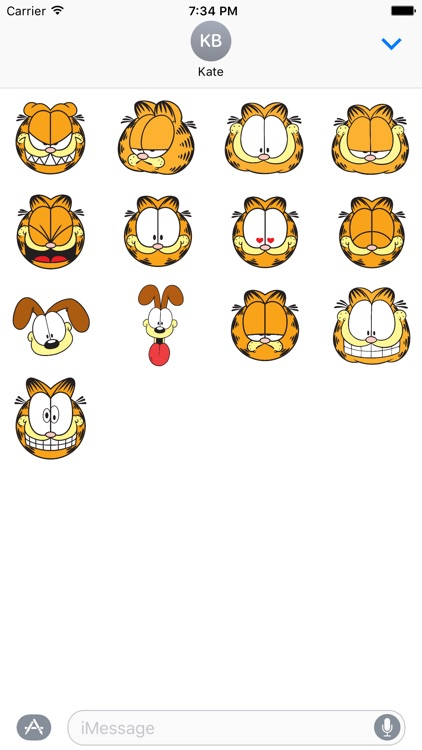 Garfield Emojis Stickers