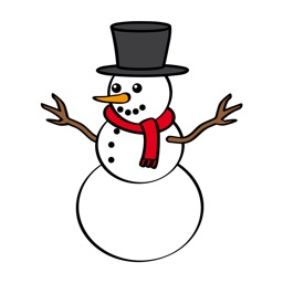 Funny Snowman Stickers for iMessage