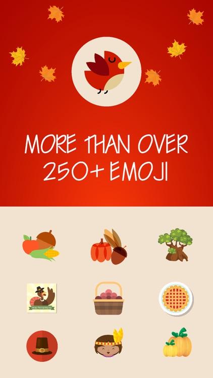 Thanksgiving Emoji Pro