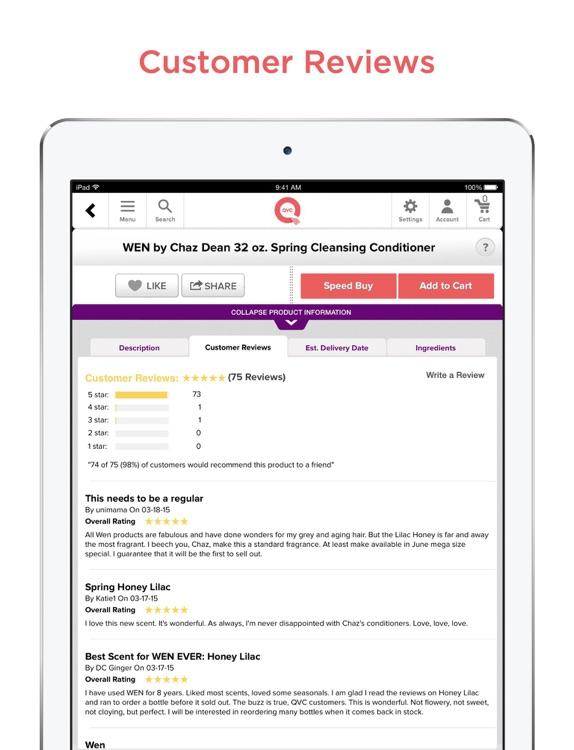 QVC for iPad screenshot-3