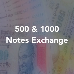 500 & 1000 Rupees Note Exchange