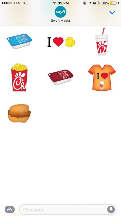 Chick-fil-A Stickers screenshot-3
