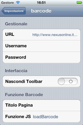 Nexid Barcode - náhled