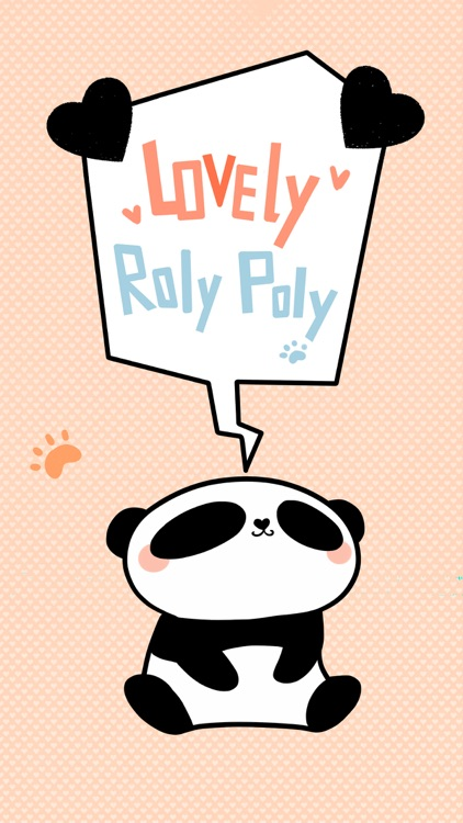 Lovely Roly Poly − NHH Stickers