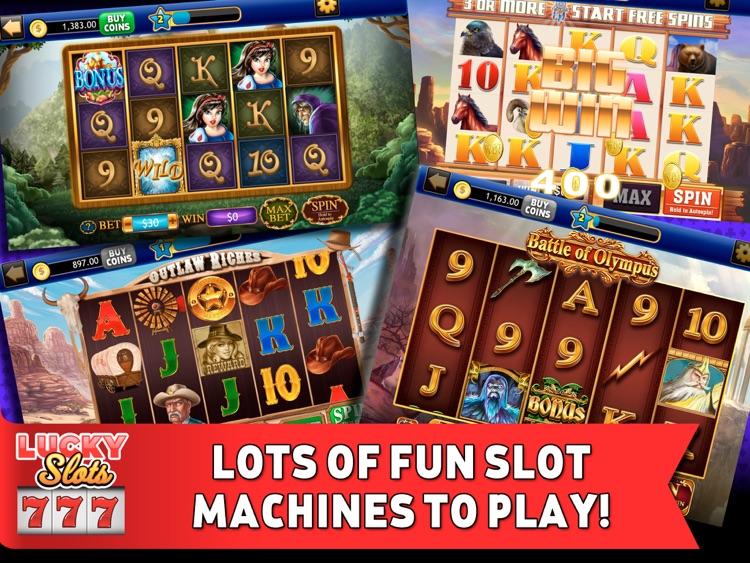 Lucky Slots HD: Vegas Casino screenshot-3