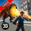 Monster Dragon City Rampage 3D Free