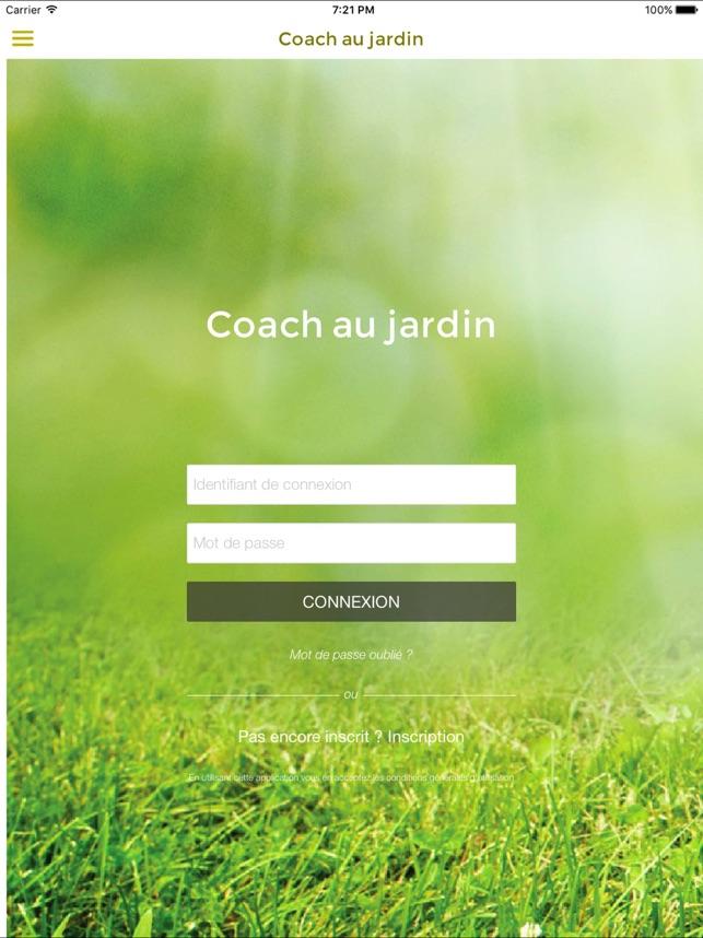 Coach Jardin coach au jardin on the app store