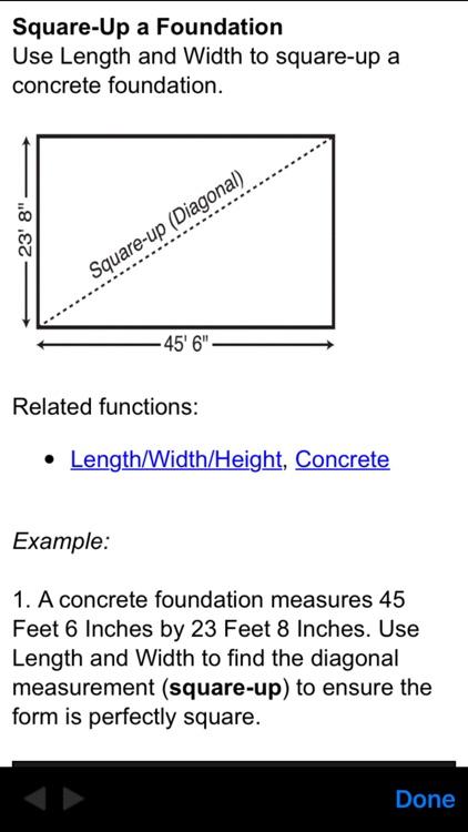 ConcreteCalc Pro Construction Math Calculator screenshot-3