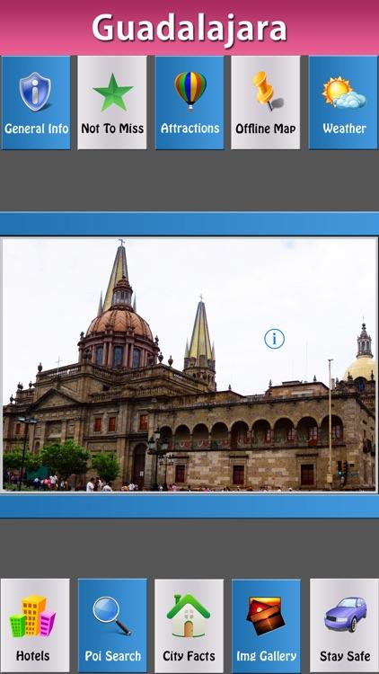 Guadalajara Offline Map City Guide