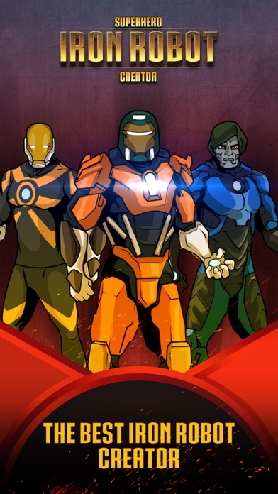 Superhero Iron Robot Creator for Avengers Iron-Man screenshot one