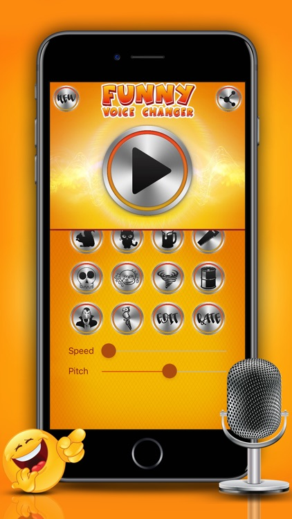 Funny Voice Changer Prank Sound Modifier & Effects screenshot-3