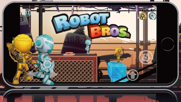 Robot Bros Free screenshot-3