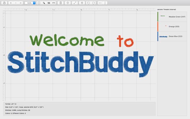 StitchBuddy on the Mac App Store