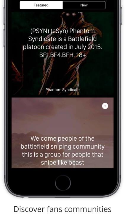 Community & LFG for Battlefield 1 screenshot-4