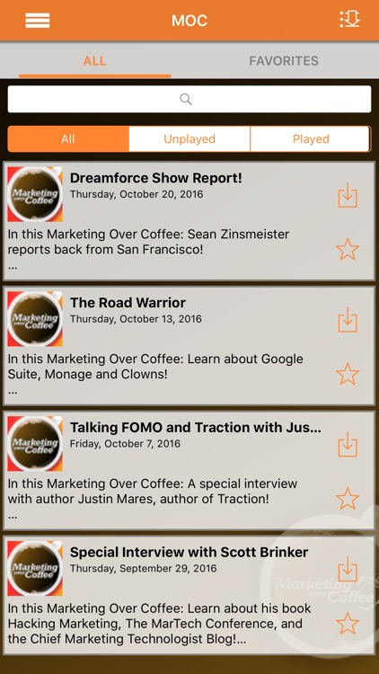 Marketing Over Coffee screenshot-3