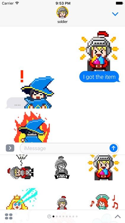 8bit dot rpg character screenshot-4