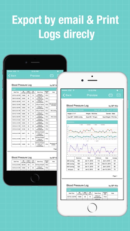 BP Wiz - Blood Pressure Log and Medication Tracker screenshot-3