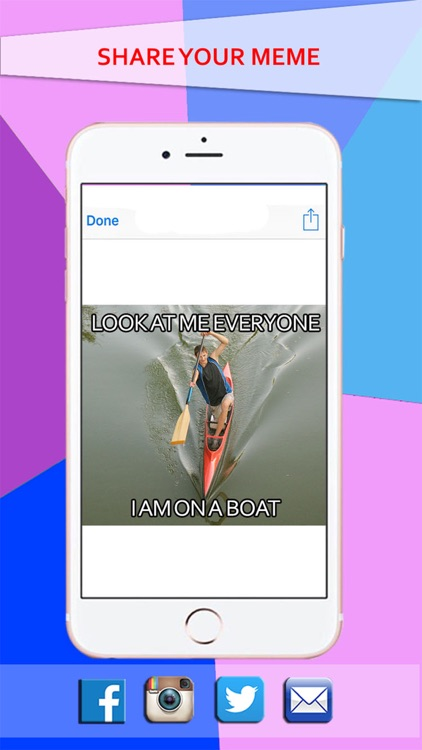 Simple Meme Creator - Make your own & Funny Meme with Athlete Images screenshot-4