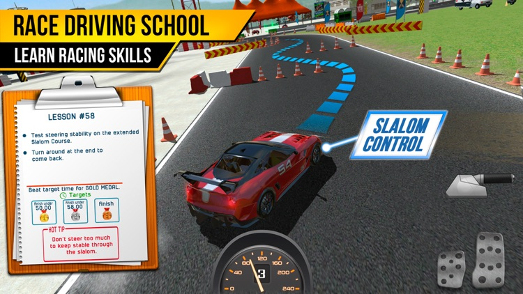Race Driving School Car Racing Driver License Test Screenshot 1